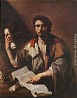 Luca Giordano A Cynical Philospher painting