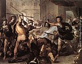 Luca Giordano Perseus Fighting Phineus and his Companions painting