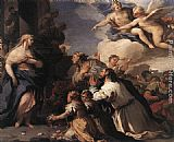 Luca Giordano Psyche Honoured by the People painting