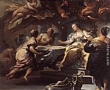 Luca Giordano Psyche Served by Invisible Spirits painting