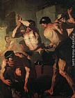 Luca Giordano The Forge of Vulcan painting