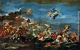 Luca Giordano The Triumph of Bacchus Neptune and Amphitrite painting