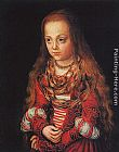 Lucas Cranach the Elder A Princess of Saxony painting