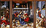 Lucas Cranach the Elder Altar Of The Holy Family (Torgau Altar) painting