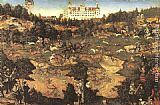 Lucas Cranach the Elder Hunt in Honour of Charles V at the Castle of Torgau painting