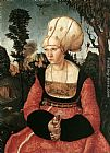 Lucas Cranach the Elder Portrait of Anna Cuspinian painting