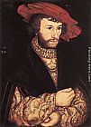 Lucas Cranach the Elder Portrait of a Young Man painting