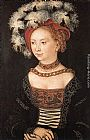 Lucas Cranach the Elder Portrait of a Young Woman painting