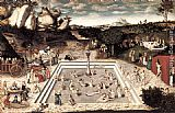 Lucas Cranach the Elder The Fountain of Youth painting