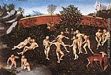 Lucas Cranach the Elder The Golden Age painting