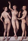 Lucas Cranach the Elder The Three Graces painting