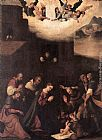 Ludovico Mazzolino Adoration of the Shepherds painting