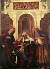 Ludovico Mazzolino Madonna and Child with Saints painting