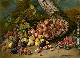 Madeleine Jeanne Lemaire Still Life with Fruits painting