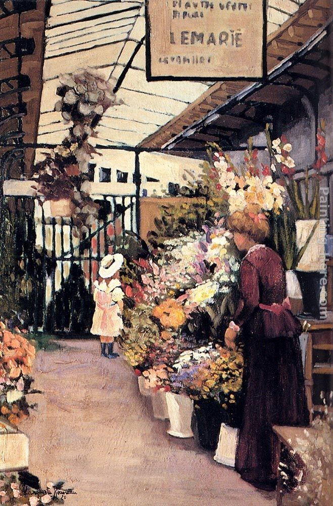 - The Flower Market