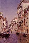 Martin Rico y Ortega The Sunny Canal painting