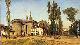 Martin Rico y Ortega The Village of Chartres painting