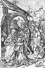 Martin Schongauer Adoration of the Magi painting