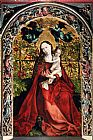 Martin Schongauer Madonna Of The Rose Bower painting