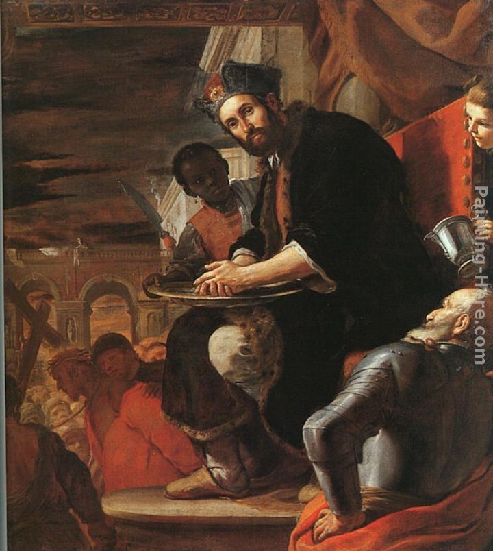 Mattia Preti Pilate Washing his Hands
