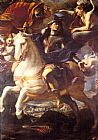 Mattia Preti St. George on Horseback painting