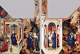 Melchior Broederlam The Dijon Altarpiece painting