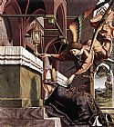 Michael Pacher Altarpiece of the Church Fathers Vision of St Sigisbert painting
