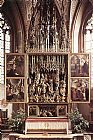 Michael Pacher St Wolfgang Altarpiece painting