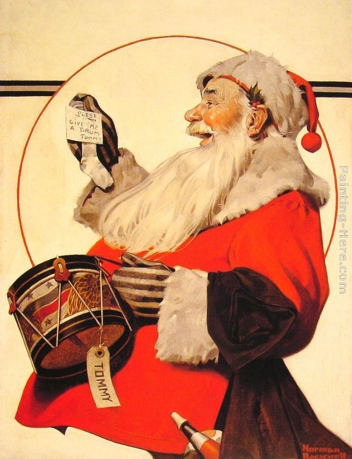 Norman Rockwell A Drum for Tommy
