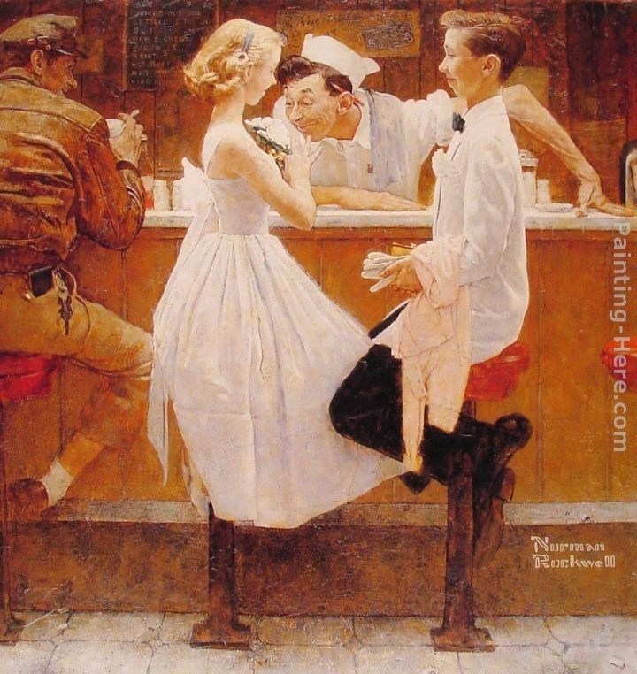 Norman Rockwell After the Prom