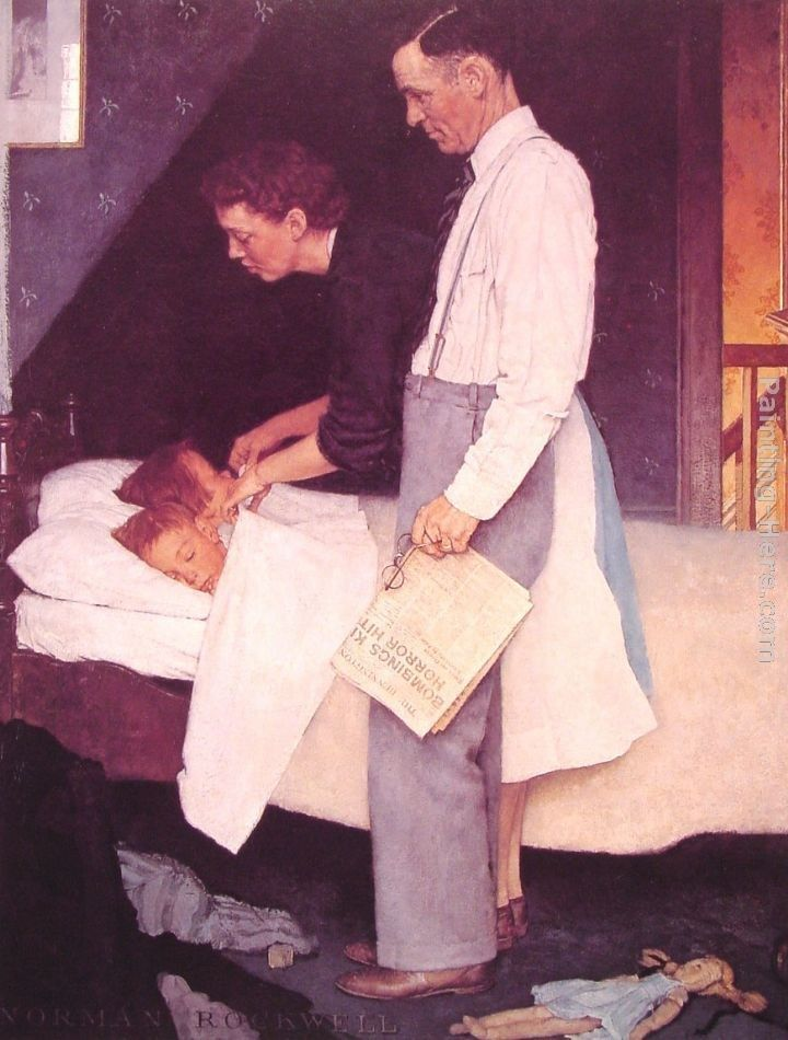 Norman Rockwell Freedom From Fear
