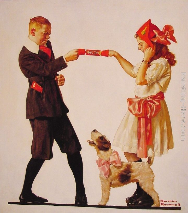 Norman Rockwell The Party Favour