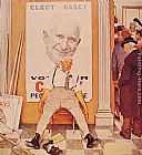 Norman Rockwell Before and After painting