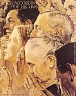 Norman Rockwell Freedom to Worship painting