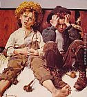 Norman Rockwell Retribution painting