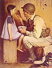 Norman Rockwell The American Way painting