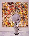 Norman Rockwell The Connoiseur painting