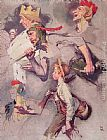 Norman Rockwell The Land of Enchantment painting