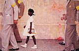 Norman Rockwell The problem we all live with painting