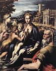 Parmigianino Madonna and Child with Saints painting