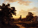 Patrick Nasmyth A View Of Addington, Surrey, With The Shirley Mills Beyond painting