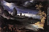 Paul Bril Coastal Landscape painting