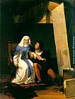 Paul Delaroche Fra Filippo Lippi Falling in Love with his Model painting