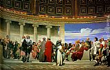 Paul Delaroche Hemicycle of the Ecole des Beaux-Arts painting