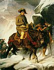 Paul Delaroche Napoleon Crossing the Alps painting