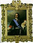 Paul Delaroche Peter the Great of Russia painting