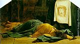 Paul Delaroche Saint Veronica painting
