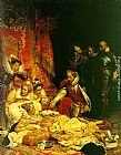 Paul Delaroche The Death of Elizabeth painting