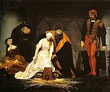Paul Delaroche The Execution of Lady Jane Grey painting
