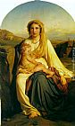 Paul Delaroche Virgin and Child painting
